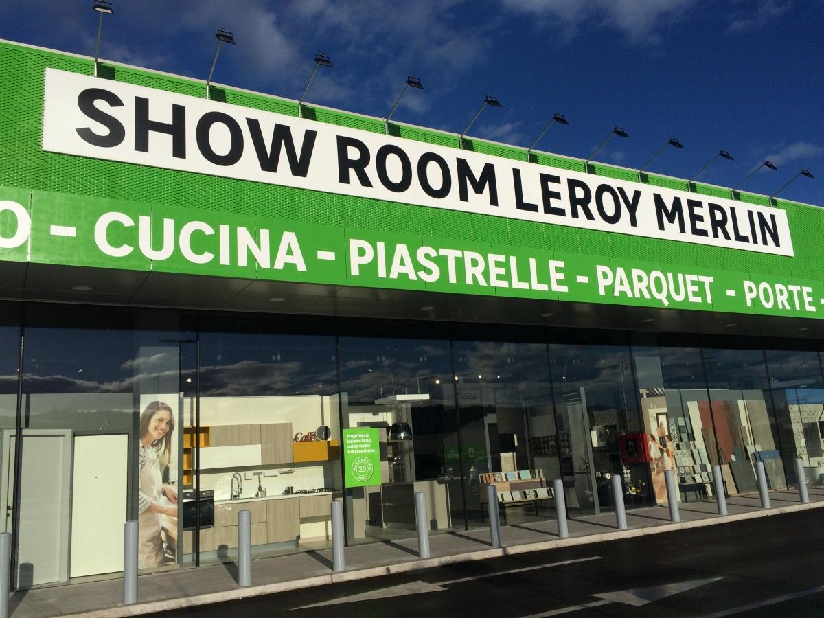 Inaugurato il nuovo show room di leroy merlin a san giovanni