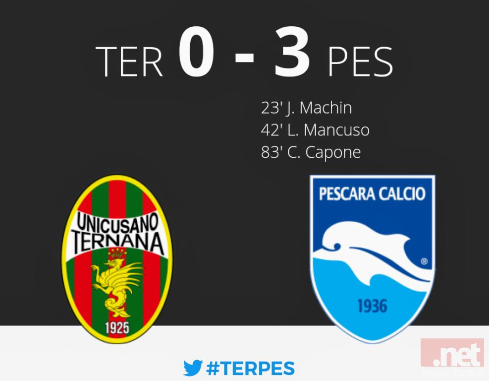 Ternana Pescara 0-3