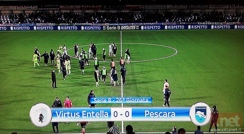 V. Entella Pescara 0-0