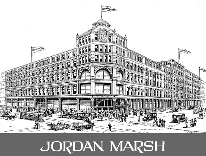 La Jordan Marsh dove lavoro per anni Nicholas Della Piana