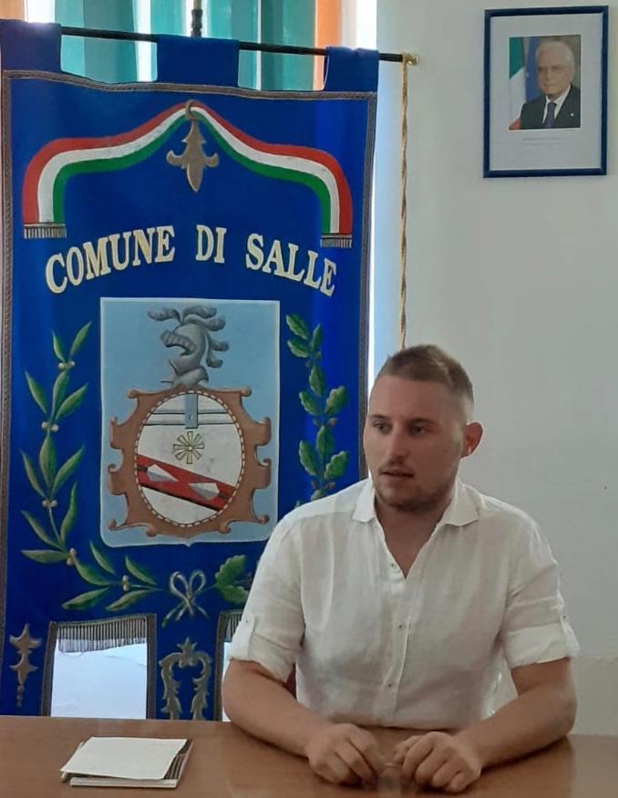Davide Morante, Sindaco di Salle